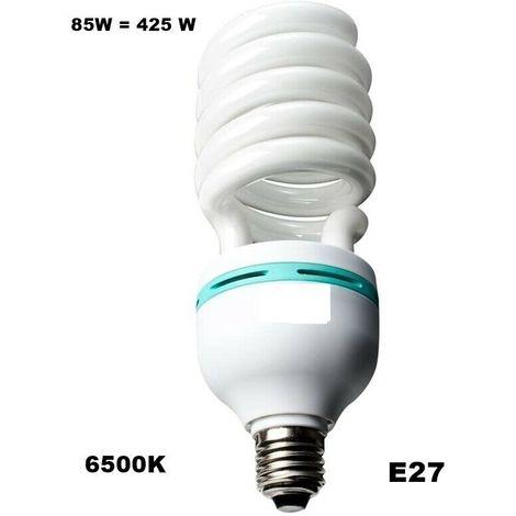 LAMPADINA A RISPARMIO ENERGETICO BASSO CONSUMO 85 WATT LUCE FREDDA