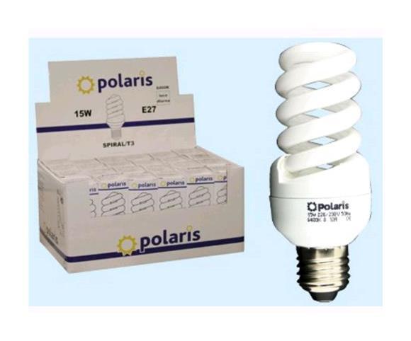 Lampadina A Risp.Energetico Spiral Luce Calda Attacco E14 12watt Conf.24pz - EAC