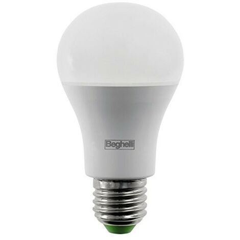 Lampadina Beghelli Goccia LED 15W E27 6500K luce bianchissima 56802