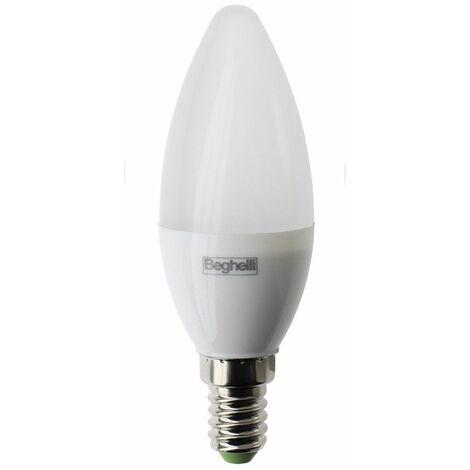 lampadina Beghelli Oliva LED E14 5W 4000K luce bianca naturale 56981