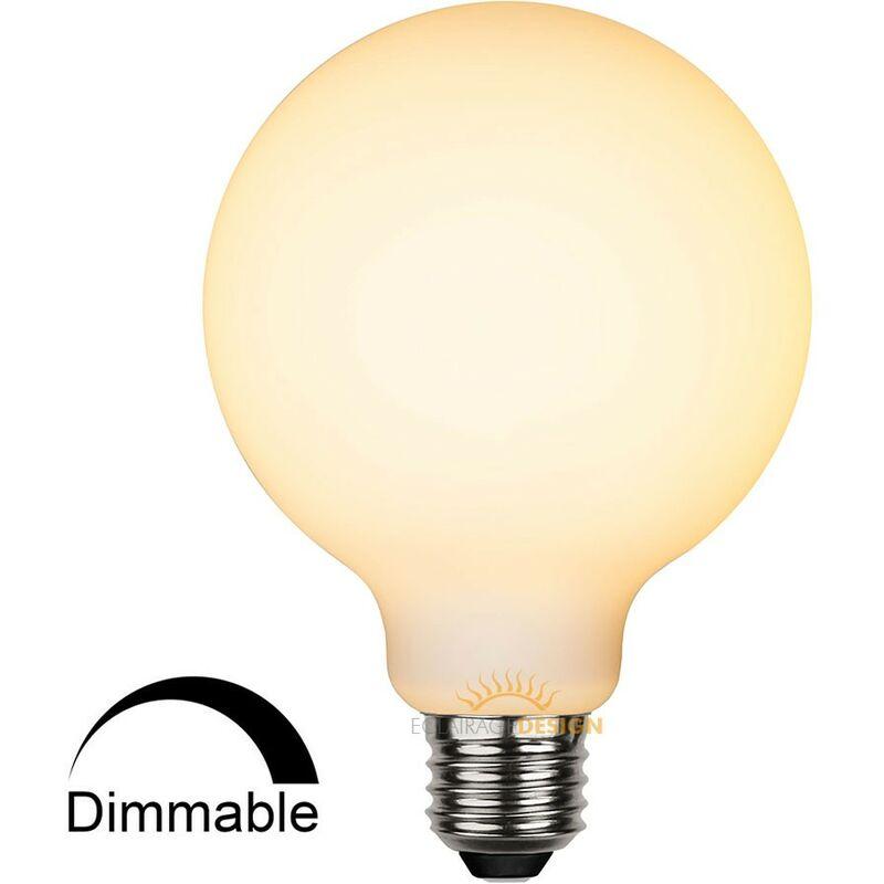 Lampadina E27 LED 5W dimmerabile opaca | Température de Couleur: Bianco caldo 2700K - STAR