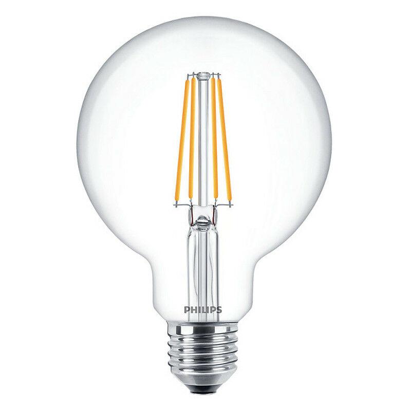 Lampadina Globo filamento Led 7W attacco E27 2700K PHILEDGL60 - Philips