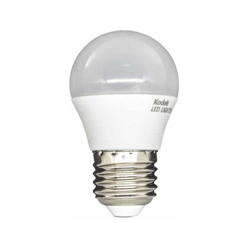 Lampadina led 6W E27 luce fredda smd G45 mini globo 71038-EU-6000 - Kodak