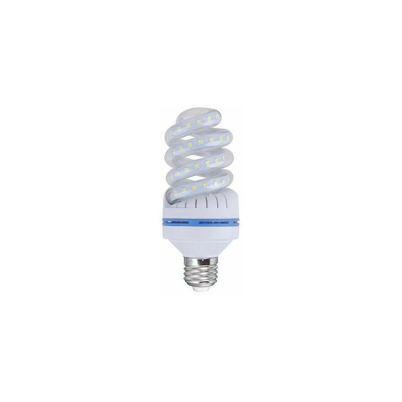 Lampadina lampada a led smd 2835 24w watt e27 spirale basso consumo luce fredda