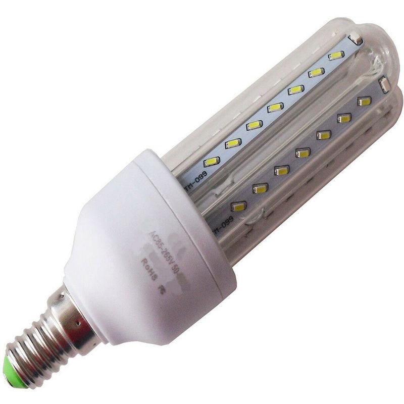 Lampadina lampada tubo led luce bianca fredda calda e14 e27 risparmio energetico potenza: 3w colore principale: bianco caldo tipo di presa: e14