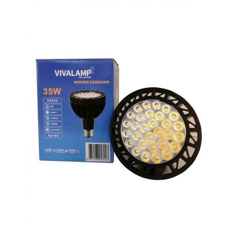Vivalamp - LAMPADINA LED 35W FARETTO SPOT-12V- KIT 1PZ 3000