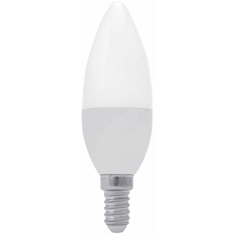 Driwei - Lampadina led 8W luce fredda 6000k forma oliva attacco E14 candela BL-4602