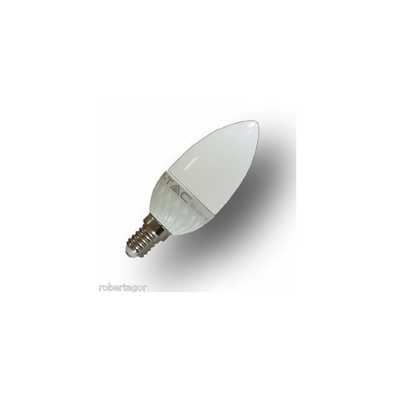Driwei - Lampadina led alta luminosita 4 w e14 luce calda fredda naturale candela v-tac luce: bianco naturale