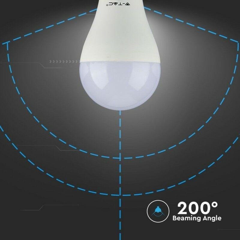 Lampadina LED E27 17W A65 6400K - V-tac