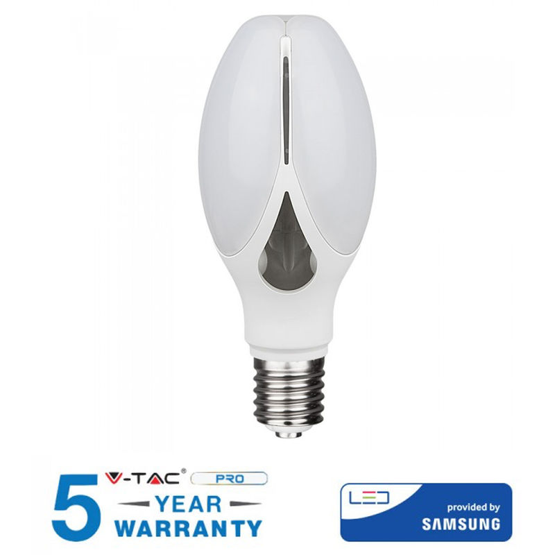 LAMPADINA LED E27 36W V-TAC SAMSUNG CHIP VT-240 OLIVE LAMP SKU 283 / 284 / 285-Naturale