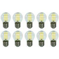 LAMPADINA LED FILAMENTO 4W E27 MINI GLOBO G45 VETRO KODAK 41121-EU-4000 10PZ