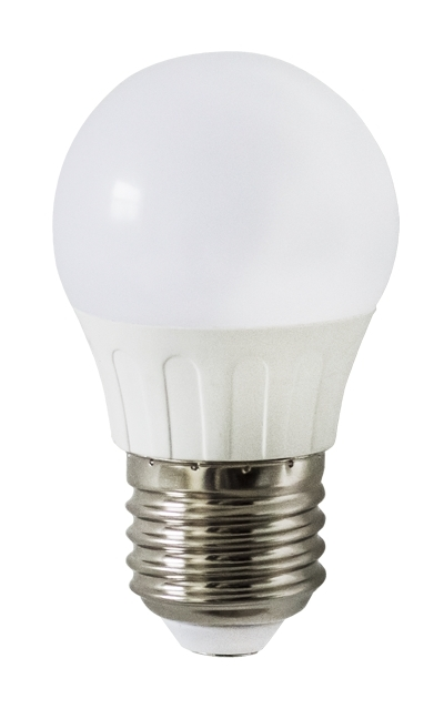 Lampadina Led G45 E27 5W Bianco Freddo 6400K