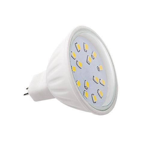 lampadina led gx5,3 4.5=35 watt 12 volt luce fredda led15 c mr16-cw-b