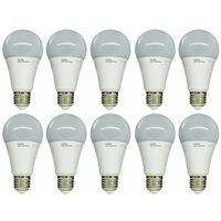 LAMPADINA LED SMD KODAK 70005 EU 6000 15W E27 BULBO A65 LATTEO 10 PZ