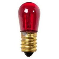 Lampadina luminaria Wimex 5W attacco E14 14V Rossa 4500410