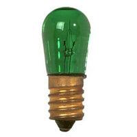 Lampadina luminaria Wimex 5W attacco E14 14V Verde 4500420