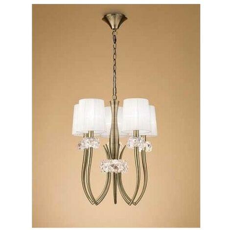 Lámpara de salon 5 Luces modelo LOEWE de Mantra al mejor precio
