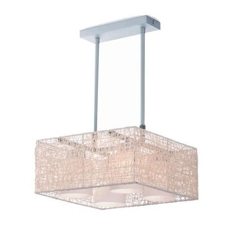 Lámpara Alexandra crema (4 luces)