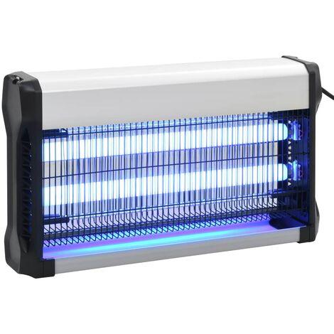 Lámpara antimosquitos de aluminio y ABS negro 30 W