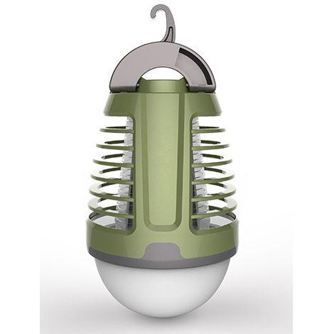 Lampara antimosquitos portatitl con bateria