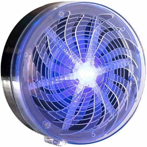 "main image of ""Lámpara Antimosquitos Solar LED Exterior Gris 8000K 7hSevenOn Outdoor"""