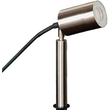 lámpara antorcha GU10 Eske de acero inoxidable