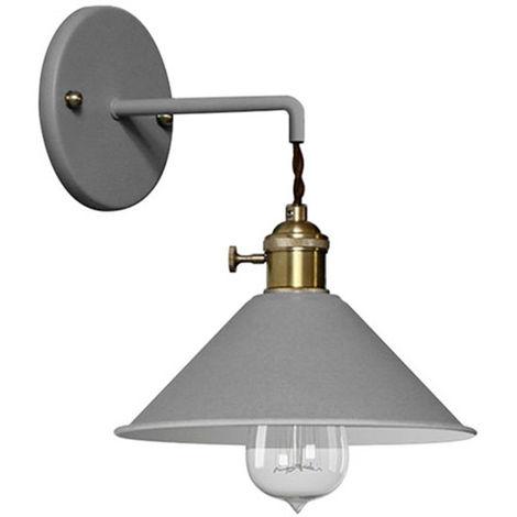 Lámpara aplique de pared Curie - Metal