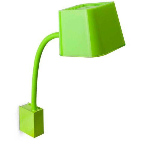 Lámpara aplique de pared E27 15W color negro - Diseño Faro FLEXI 29929 - 29929