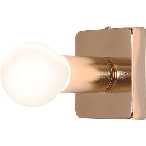 Lámpara aplique de pared Louis - Metal Dorado