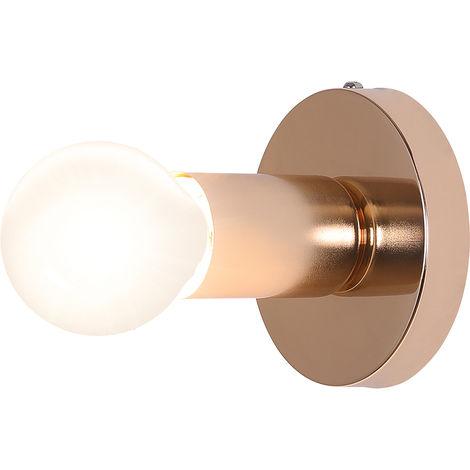 Lámpara aplique de pared Louisa - Metal Dorado