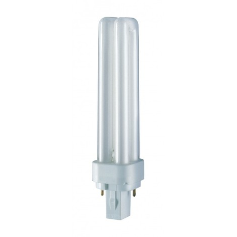 Lampara bajo cons fluores 2 pins downlinght g24 18w 4000k du