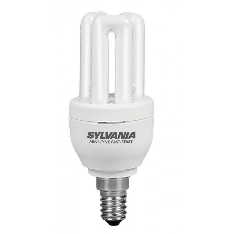 0035134 bombilla fluorescente compacta 8W E14 450LM - 2700K - Sylvania