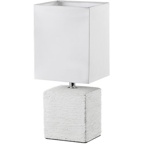 Lámpara beige cerámica de sobremesa modelo Ping E14 (Trio Lighting R50131001)