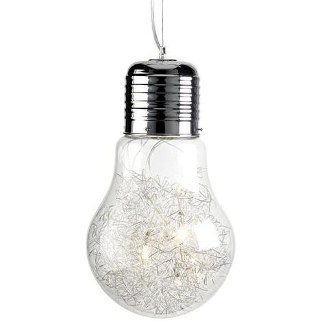 Lámpara Bombilla Gigante 8 luces halógenas