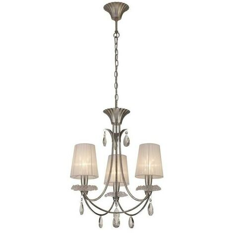 Lámpara clasica de 3 luces modelo SOPHIE DE MANTRA