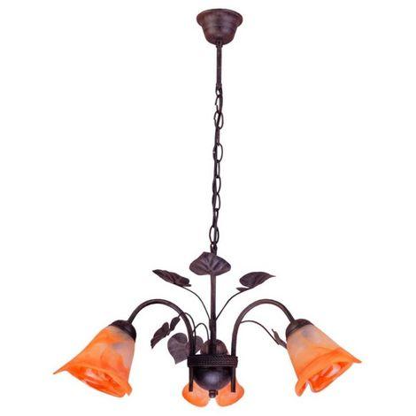 Lámpara colgante 3L 56cm