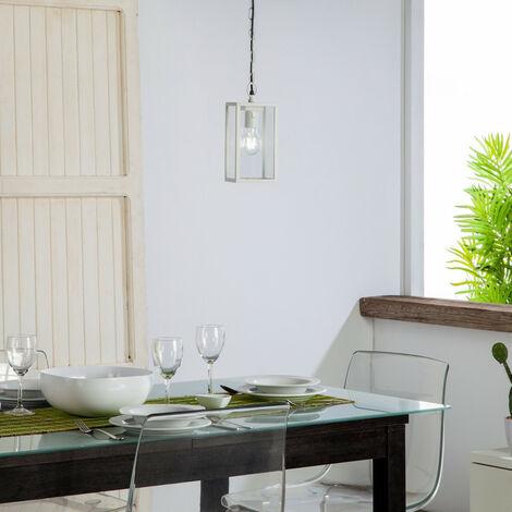 Lámpara Colgante Atrium Blanco Blanco