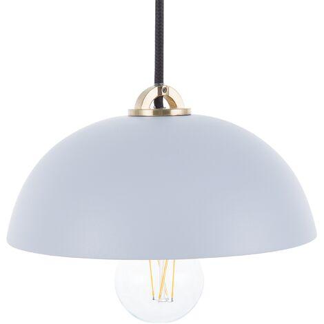Lámpara colgante azul claro ESERA