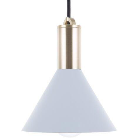 Lámpara colgante Azul claro LEREZ