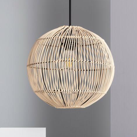 Lámpara Colgante Bambu Amabhola Natural