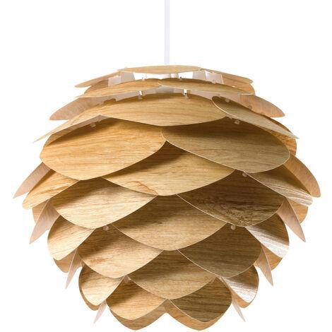Lámpara colgante Banksia color haya para montar E27 (GSC 204400011)