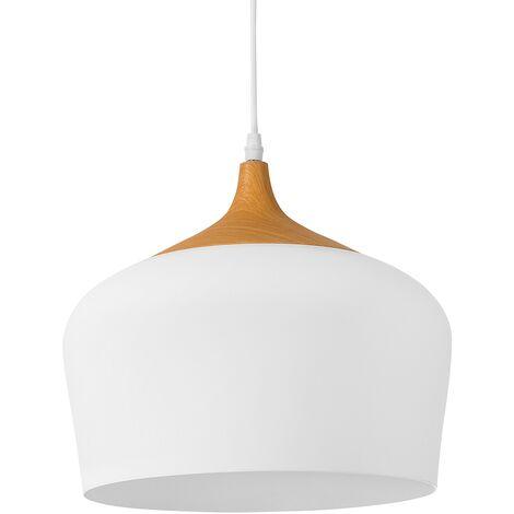 Lámpara colgante blanca ANGARA