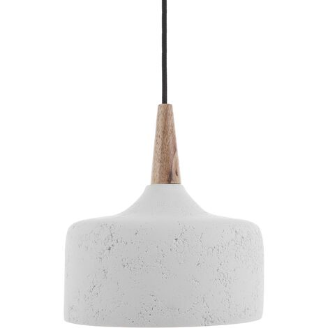 Lámpara colgante blanca BURANO