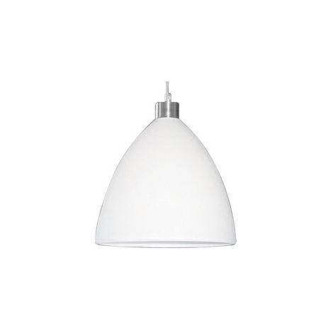 Lámpara colgante blanco 60W 16004-2-PB 21cm.