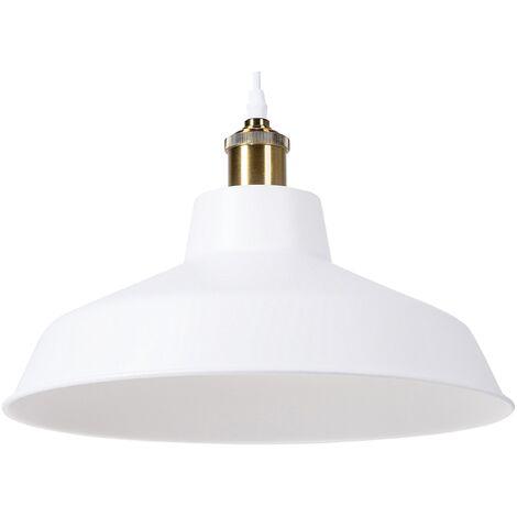 Lámpara colgante blanco PECHORA