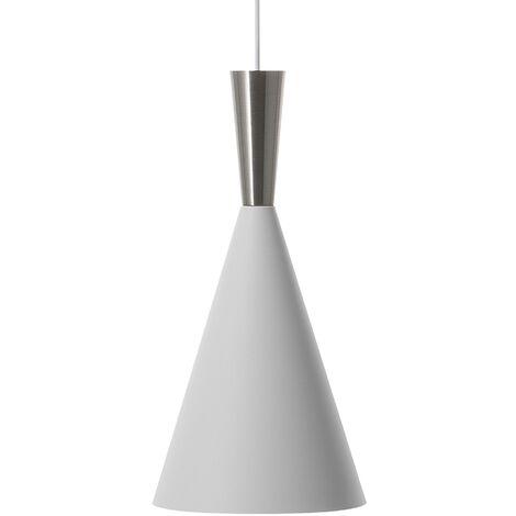 Lámpara colgante blanco/plateado TAGUS