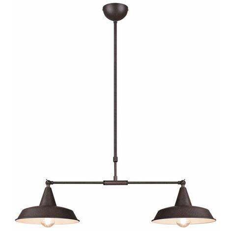 Lámpara colgante comedor pasillo techo lámpara colgante óxido ajustable Reality luces R30422024