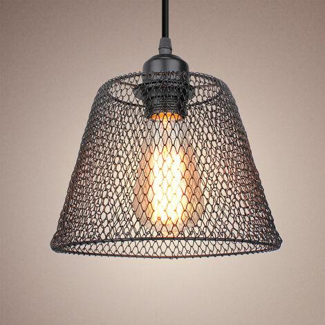 Lámpara Colgante Creativa Vintage Colgante de Luz de Metal Luz Colgante Retro, Luz de Techo Industrial, Bombilla E27