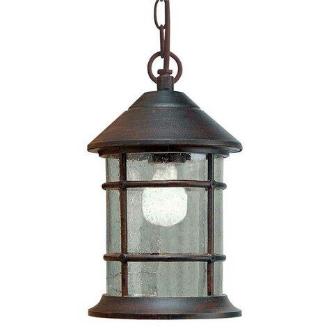Lámpara colgante de jardín SIROS 1 bombilla