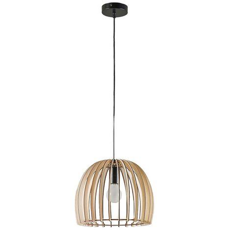 Lámpara colgante de madera Bela, Ø 30 cm